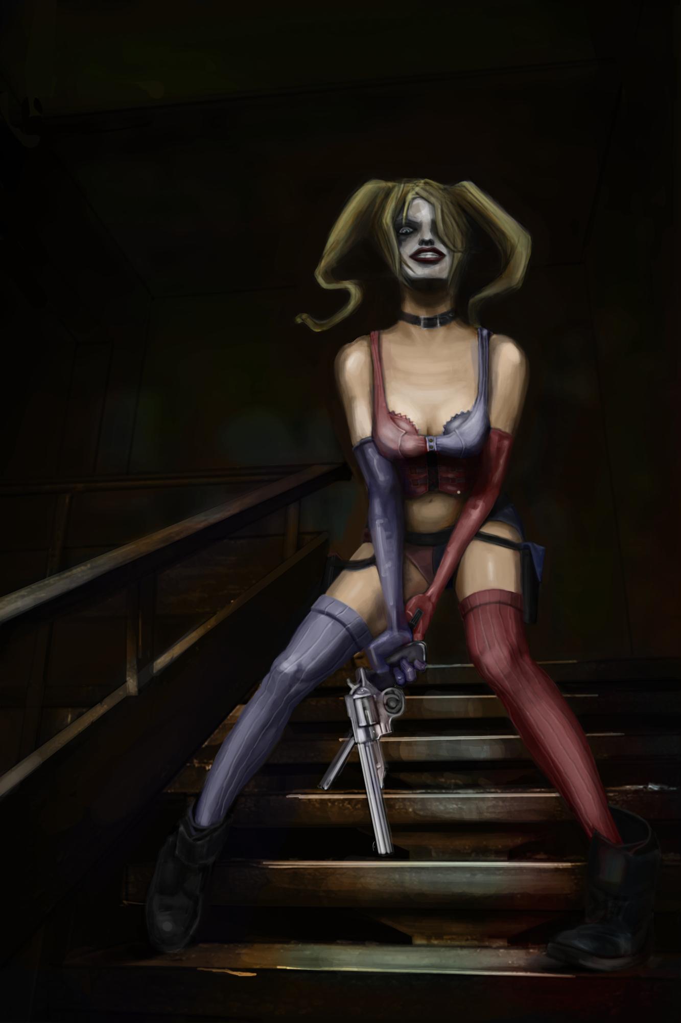 Harley Quinn by Vangega