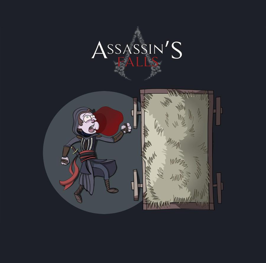 Assassin's Falls? by Vangega