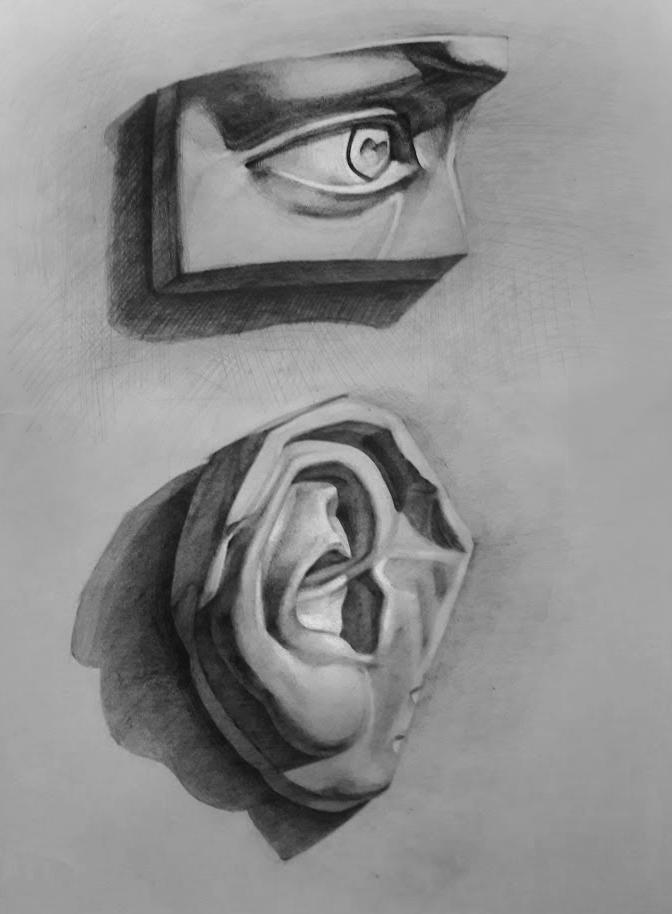 Study Drawing #4 by Vangega