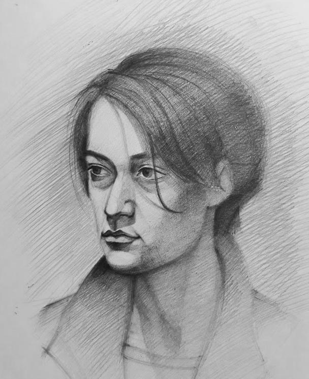 Study Drawing #6 by Vangega