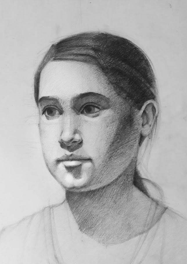 Study Drawing #7 by Vangega