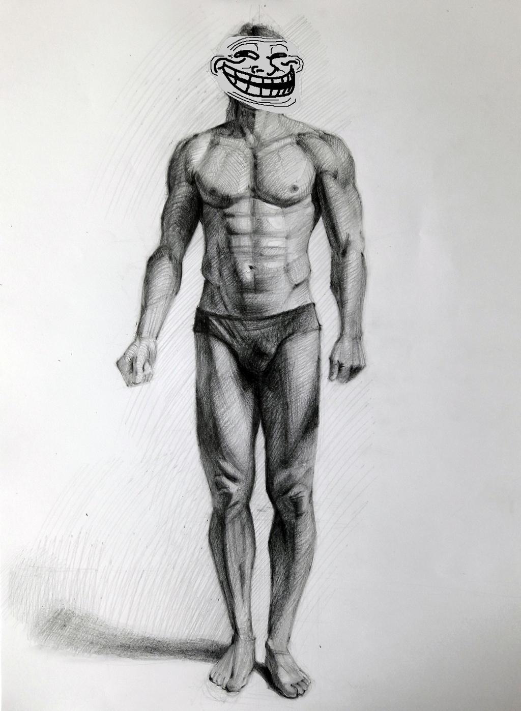 Study drawing # 15 by Vangega