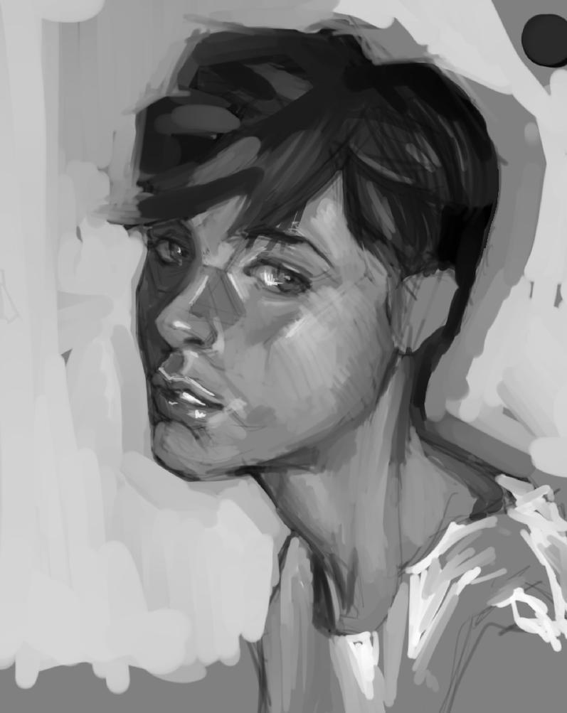 Study Digital Painting#1 by Vangega