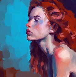 Painting study by Vangega
