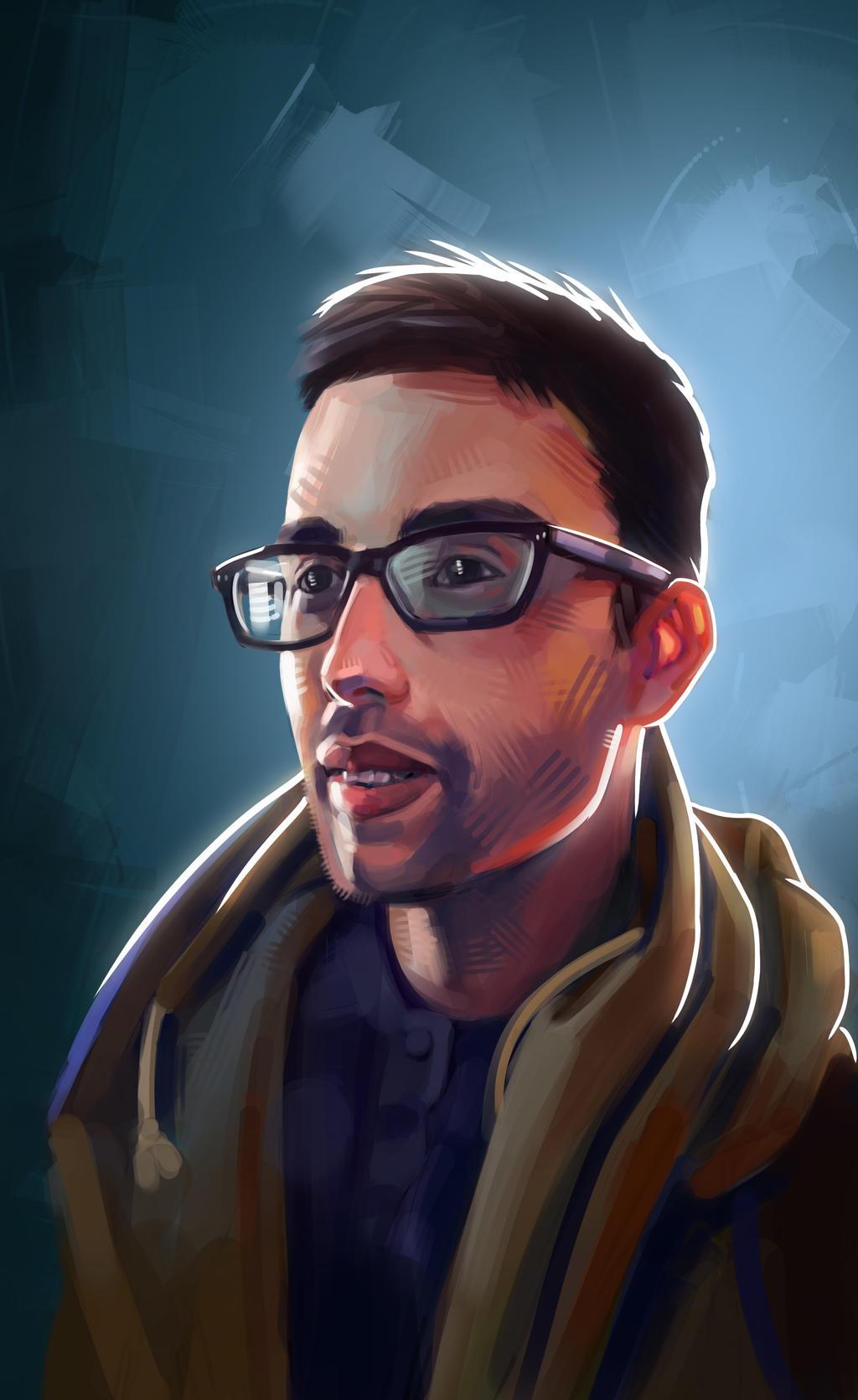 Self Portrait by Vangega