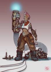 Character_Sketch_8 by Vangega