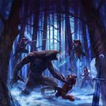 Werewolf by Vangega