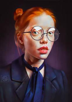 Redhead - Photo Study