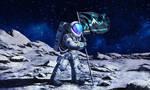 Moon Landing by Vangega