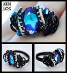 Blue-Violet Nebula Ring
