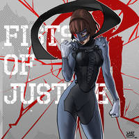 Makoto's Fists of Justice by WolfgandShuric