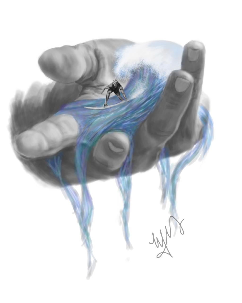 In The Palm of My Hand by MelodyNieves