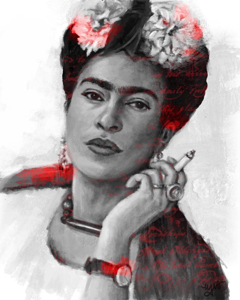 Frida by MelodyNieves