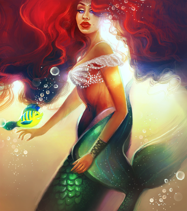 Ariel by MelodyNieves