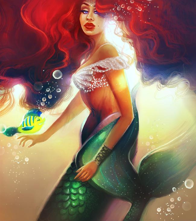 Ariel by MelodyNieves