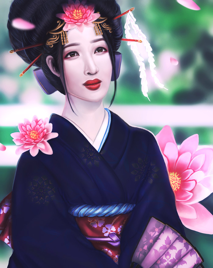 Geisha by MelodyNieves