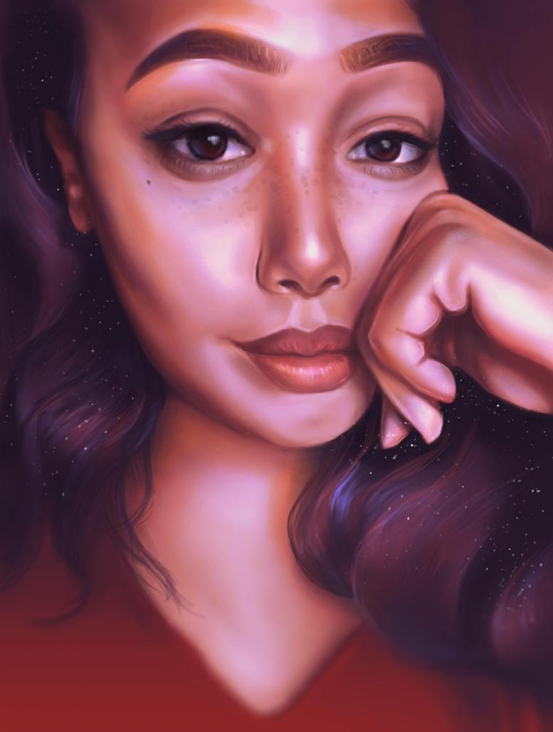 Self Portrait by MelodyNieves