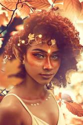 Autumn Elf by MelodyNieves