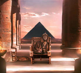 Lazy Day: Ancient Egypt by MelodyNieves