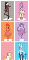 The Ladies of Adventure Time by MaryAQuiteContrary