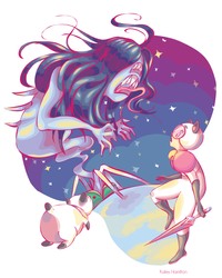 Bee and Puppycat by MaryAQuiteContrary