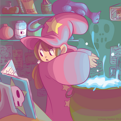 The Little Witch by MaryAQuiteContrary