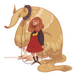 A Girl and Her Pet Mutant Anteater