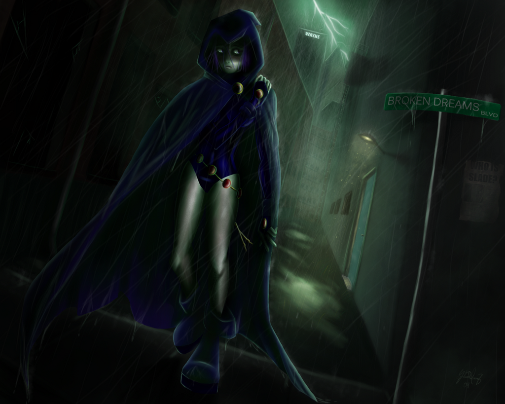 'I Walk Alone' - Teen Titans by RiptideX1090