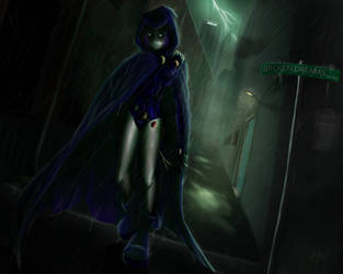 'I Walk Alone' - Teen Titans by RiptideX1090