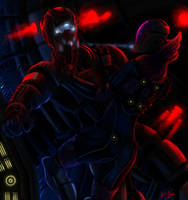 Quarian's Kiss - Mass Effect by RiptideX1090