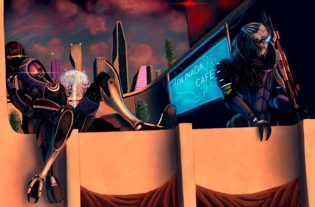 Guardian Angel - Mass Effect 2 by RiptideX1090