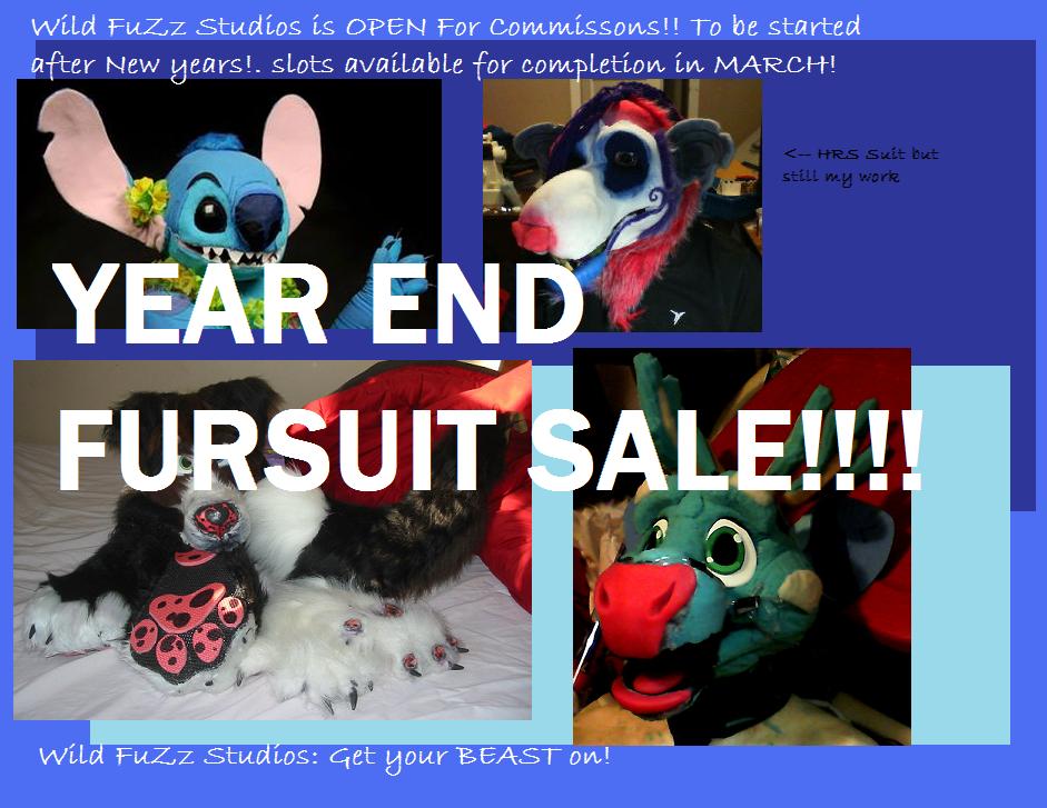 Year End Sale!!! by Wild-FuZz-Studios