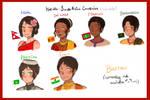 Hetalia  South Asia