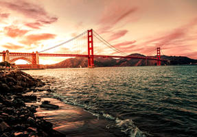 Golden Gate Bridge USA by jemberklaas