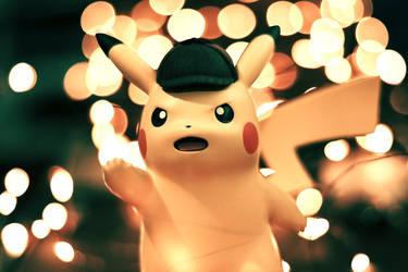 Undercover Pikachu by jemberklaas