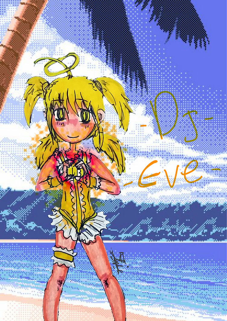 Summer Dj Eve by amadarian