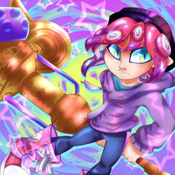 Toby Octoling (Bday Gift) by y0waifu
