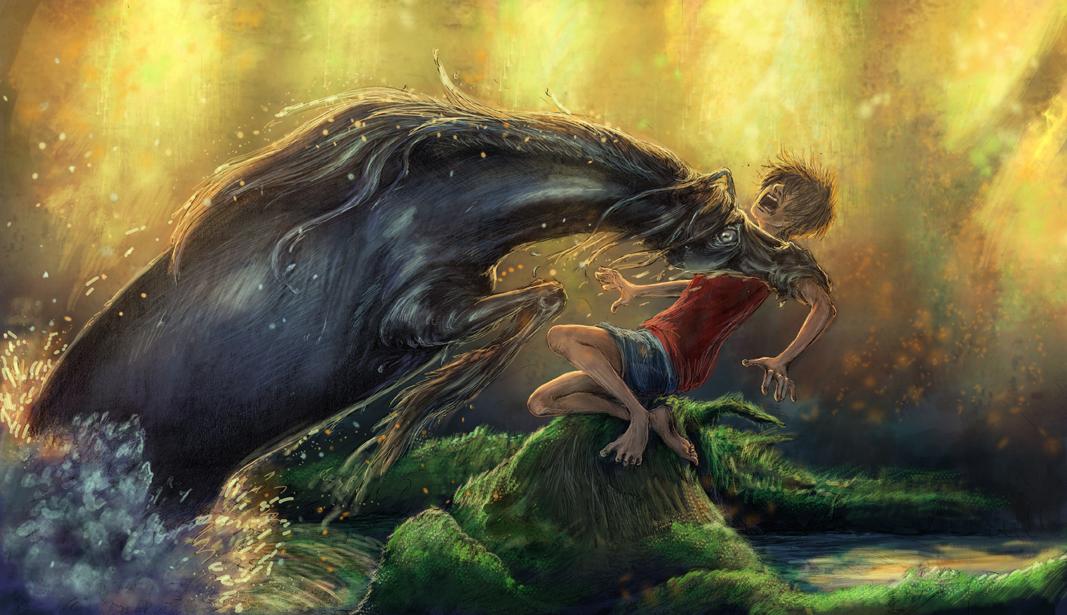 Mythical water horses - photo#22