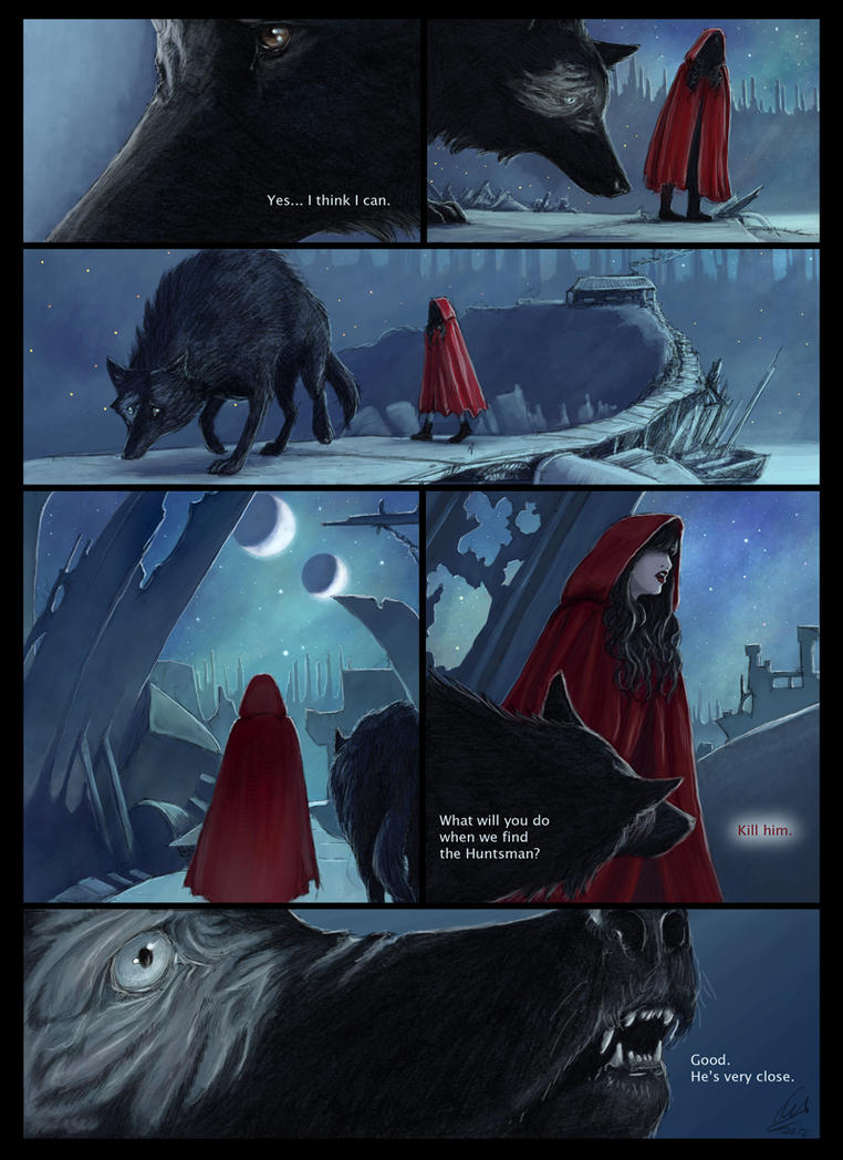 Scarlet and the Wolf page 7 by porcelianDoll