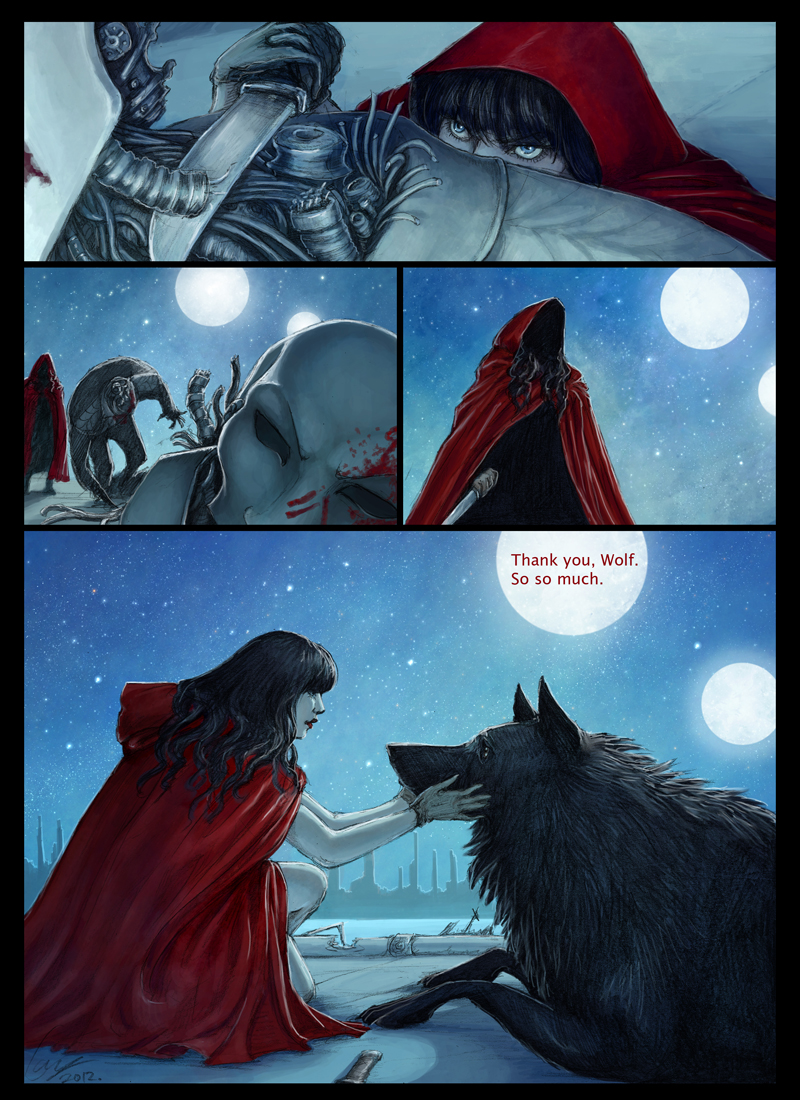 Scarlet and the Wolf page 11 by porcelianDoll