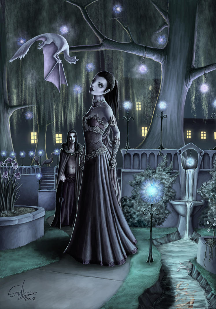 Persephone's Garden by porcelianDoll