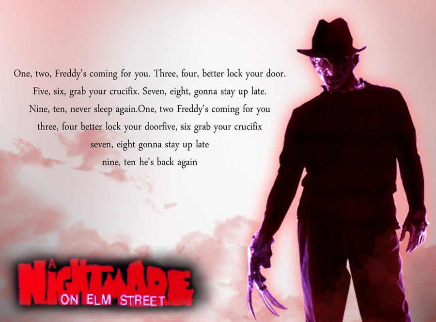 Freddy Kruger Rhyme Wallpaper By The Mattness