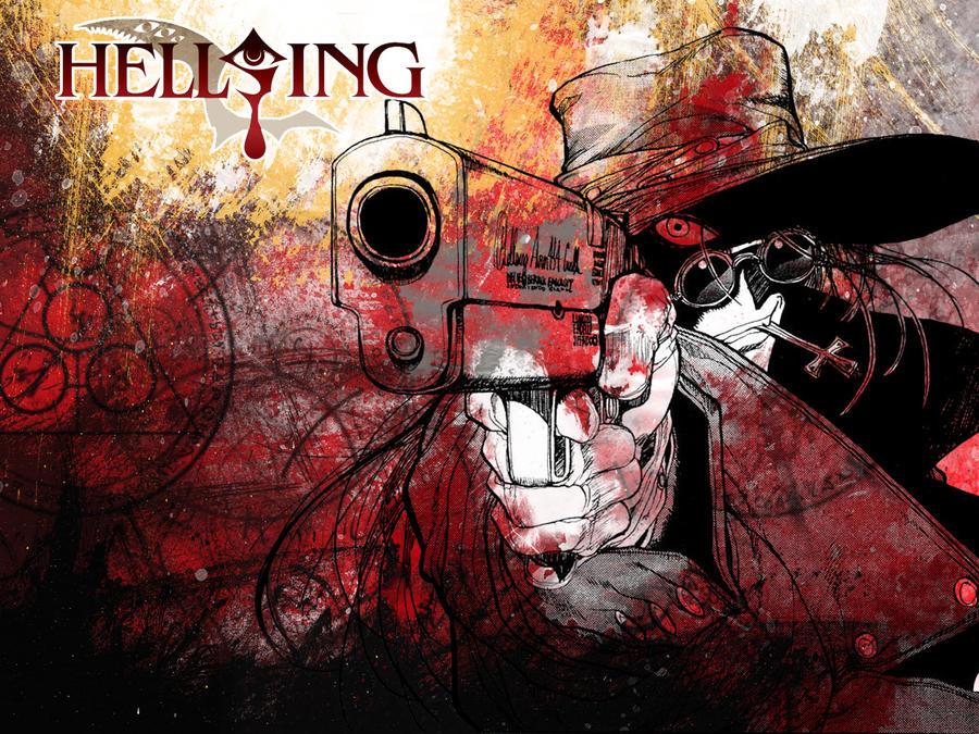 hellsing wallpaper. Hellsing wallpaper by
