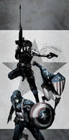 Captain America/Winter Soldier/Patriot by naratani
