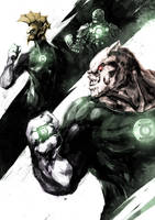 Kilowog/Tomar-Re/Stel by naratani