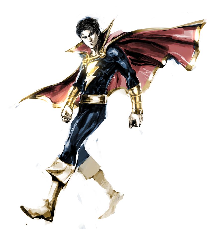 Captain Marvel Jr. by naratani