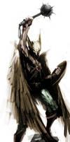 Hawkman by naratani