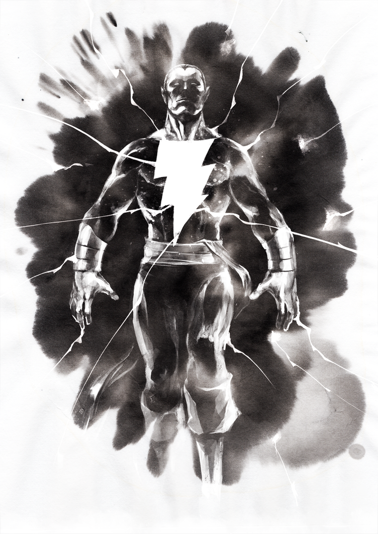 Black Adam by naratani