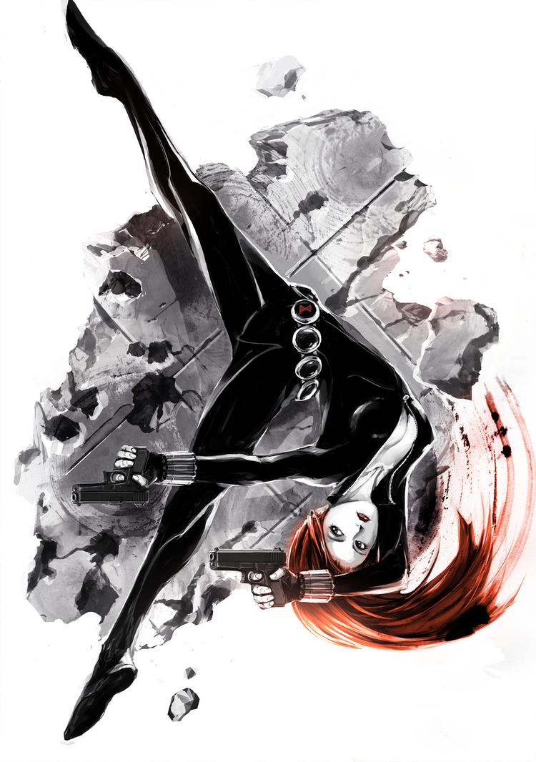 Black Widow by naratani