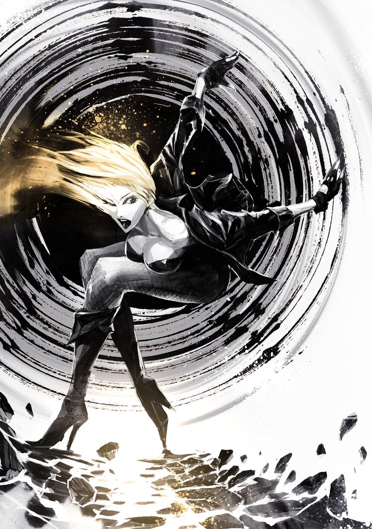 Black Canary by naratani